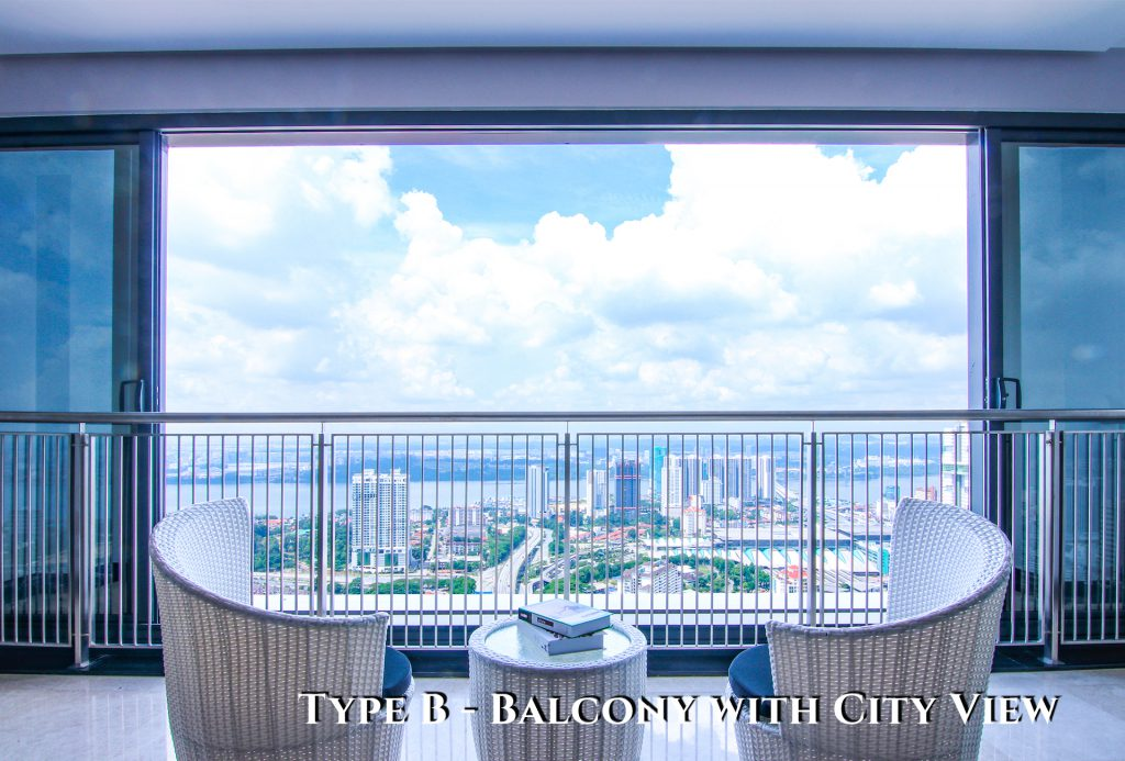 Type B - Balcony with City View